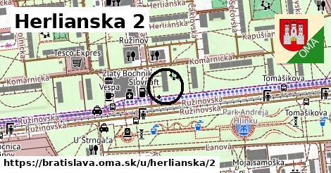 Herlianska 2, Bratislava