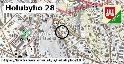 Holubyho 28, Bratislava