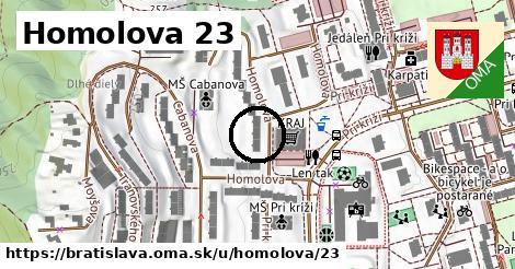 Homolova 23, Bratislava