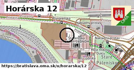 Horárska 12, Bratislava