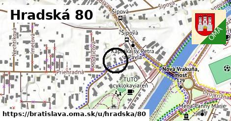 Hradská 80, Bratislava