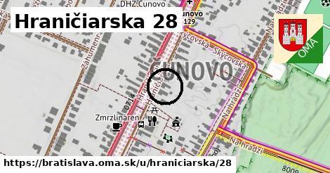 Hraničiarska 28, Bratislava