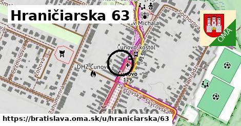 Hraničiarska 63, Bratislava