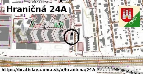 Hraničná 24A, Bratislava