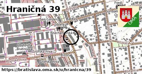 Hraničná 39, Bratislava