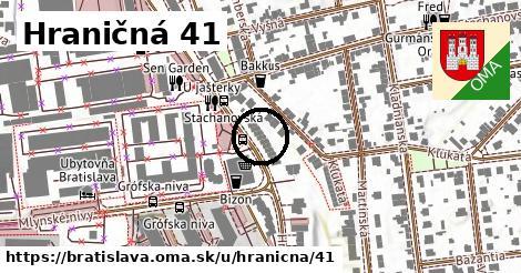 Hraničná 41, Bratislava