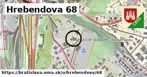 Hrebendova 68, Bratislava
