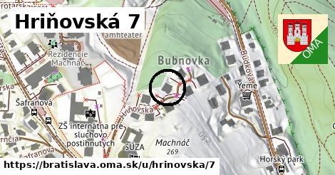 Hriňovská 7, Bratislava