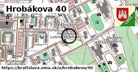 Hrobákova 40, Bratislava