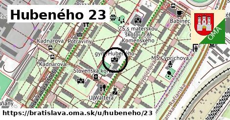 Hubeného 23, Bratislava