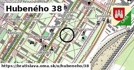 Hubeného 38, Bratislava