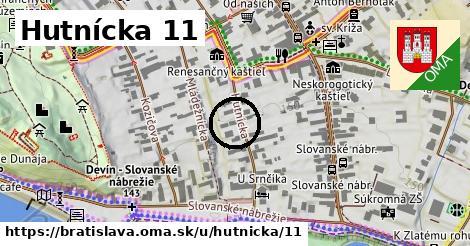 Hutnícka 11, Bratislava