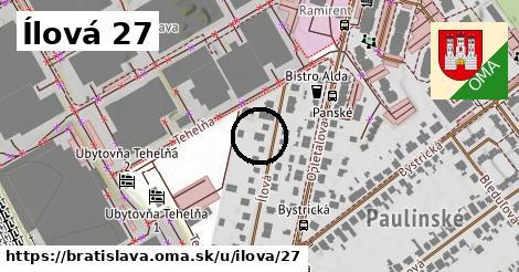 Ílová 27, Bratislava