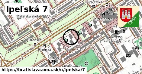 Ipeľská 7, Bratislava