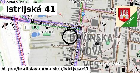 Istrijská 41, Bratislava