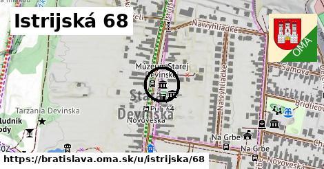 Istrijská 68, Bratislava