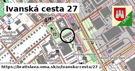 Ivanská cesta 27, Bratislava