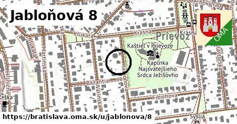 Jabloňová 8, Bratislava