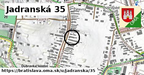 Jadranská 35, Bratislava