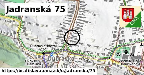 Jadranská 75, Bratislava