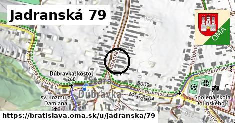 Jadranská 79, Bratislava