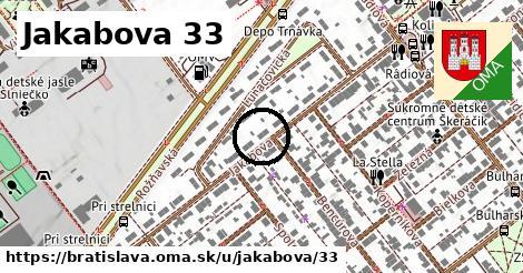 Jakabova 33, Bratislava
