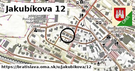Jakubíkova 12, Bratislava