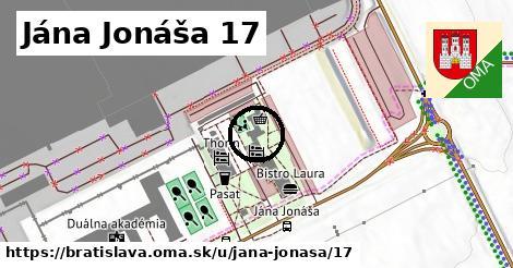 Jána Jonáša 17, Bratislava