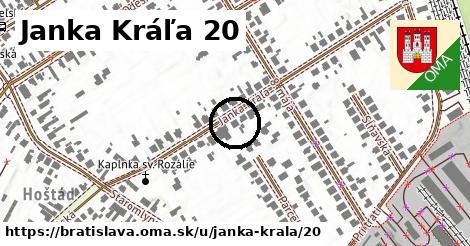 Janka Kráľa 20, Bratislava