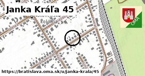 Janka Kráľa 45, Bratislava