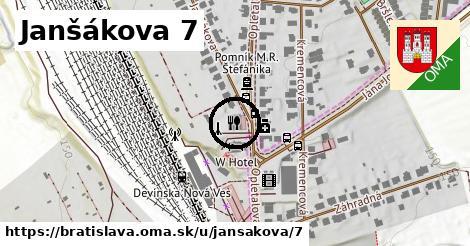 Janšákova 7, Bratislava