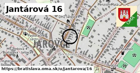 Jantárová 16, Bratislava