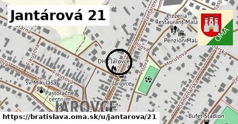 Jantárová 21, Bratislava