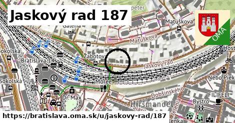 Jaskový rad 187, Bratislava