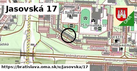 Jasovská 17, Bratislava