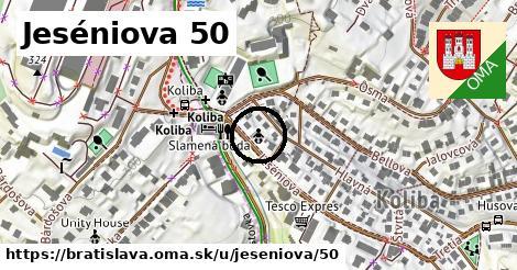Jeséniova 50, Bratislava