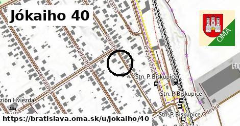 Jókaiho 40, Bratislava