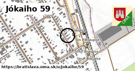 Jókaiho 59, Bratislava