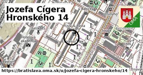 Jozefa Cígera Hronského 14, Bratislava