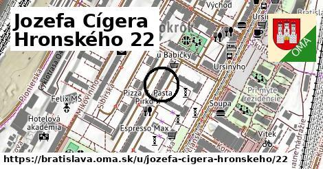 Jozefa Cígera Hronského 22, Bratislava