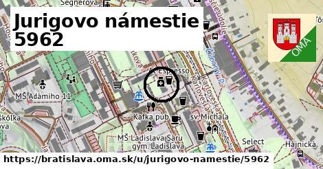 Jurigovo námestie 5962, Bratislava