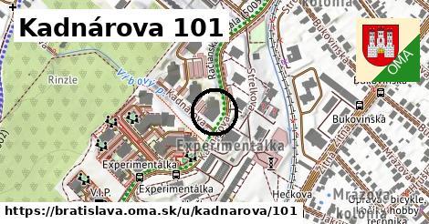 Kadnárova 101, Bratislava