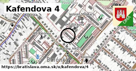Kafendova 4, Bratislava