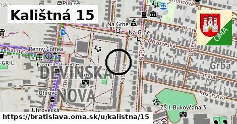Kalištná 15, Bratislava