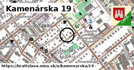 Kamenárska 19, Bratislava