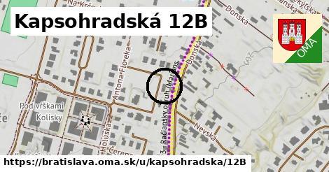 Kapsohradská 12B, Bratislava