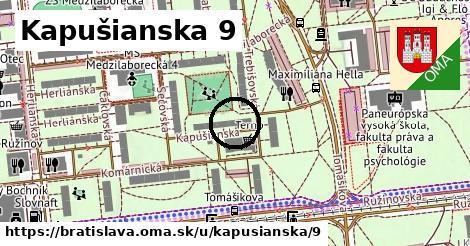 Kapušianska 9, Bratislava