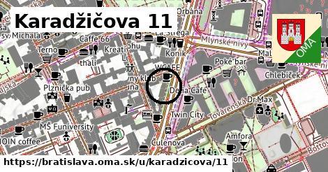 Karadžičova 11, Bratislava