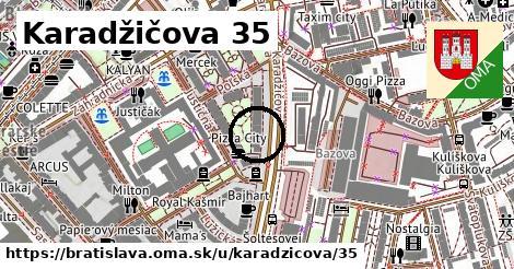 Karadžičova 35, Bratislava