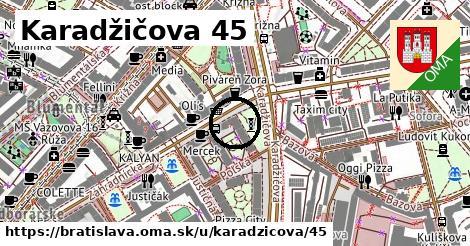 Karadžičova 45, Bratislava